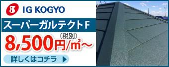 IGスーパーガルテクトF8500円/㎡~