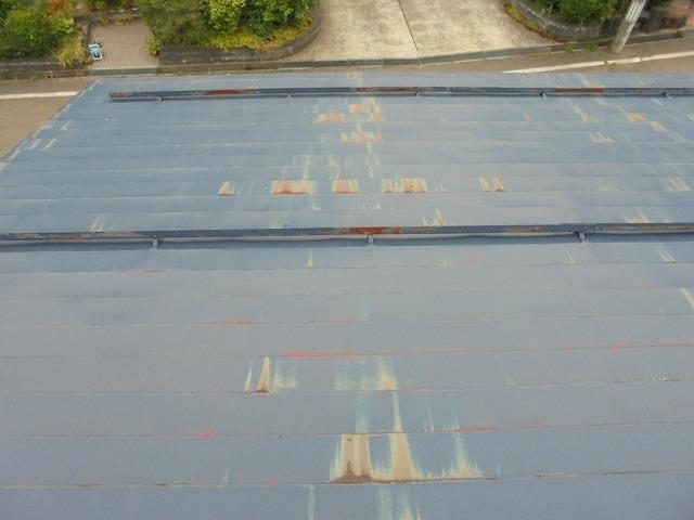屋根錆び調査3