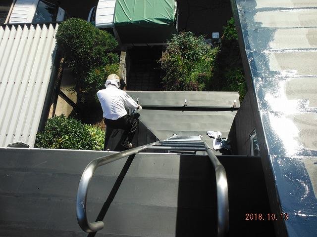 屋根塗装4