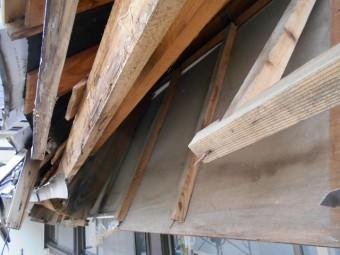屋根雪害改修2