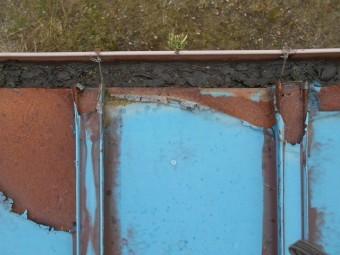 軒先と雨樋