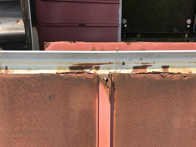 屋根錆び調査1
